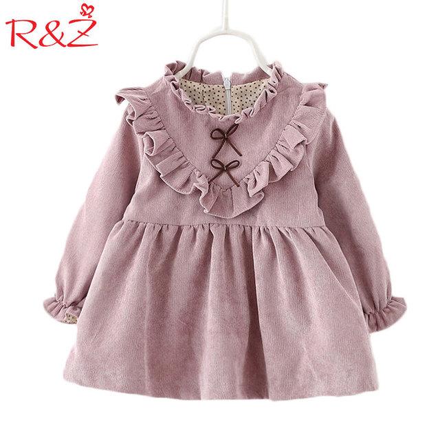7970513c9 2017 baby girls dress spring and autumn long sleeve Korean version ...