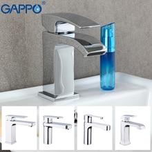 все цены на GAPPO Basin Faucets water mixer tap basin sink faucet bathroom basin mixer single hole brass faucet waterfall basin tap онлайн