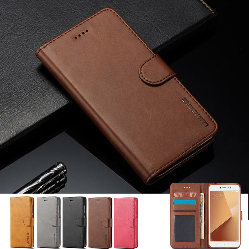 For Xiaomi Redmi Note 5 Pro 4 4X 4A 5A Case Leather Wallet Flip Cover For Xiaomi Redmi 5 Plus Cases For Redmi 5 4A 4X Phone Bags