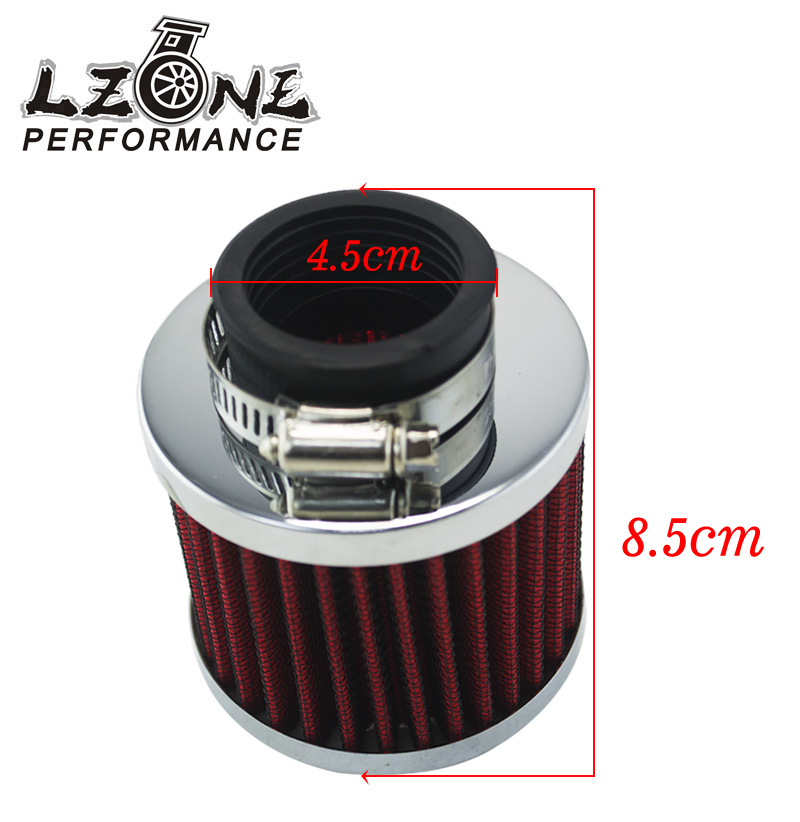 Car Air Cleaner Product ~ Lzone racing auto air filter height mm neck id car