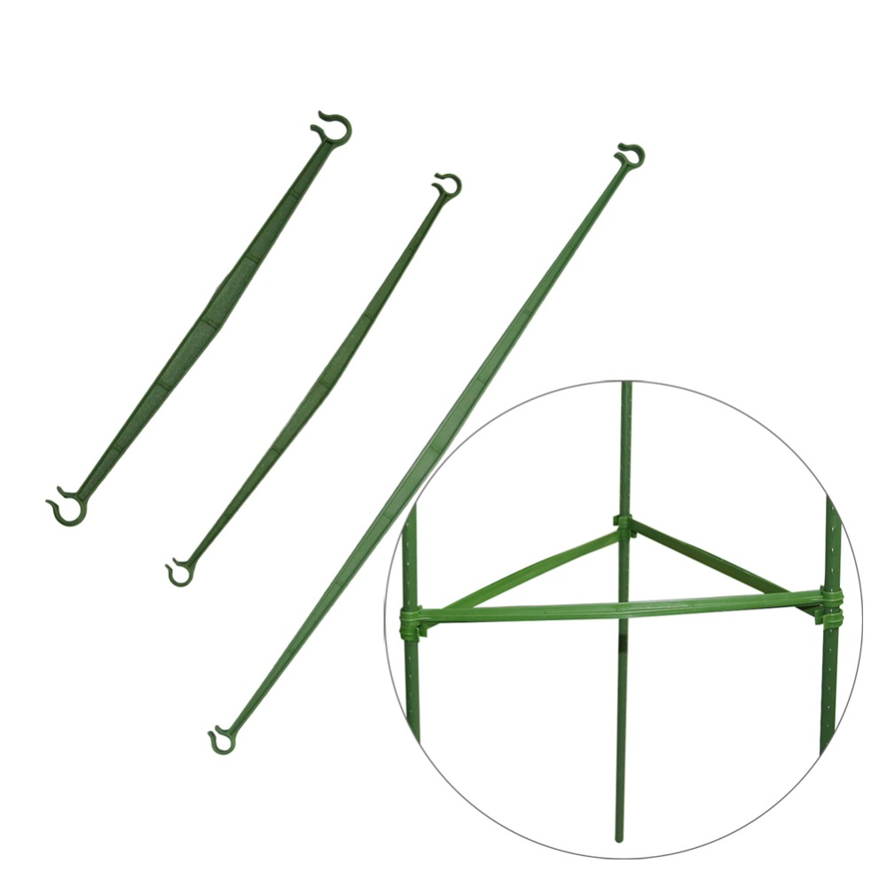 Plant Support Rod Fixed Connector Gardening Vegetable Vines Climbing Plant Support Connecting Rod 50 Pcs