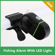 3pcs Fish Alarm Bell  Electronic Fish Bite Strike Alert Clip-On Fishing Rod Pole