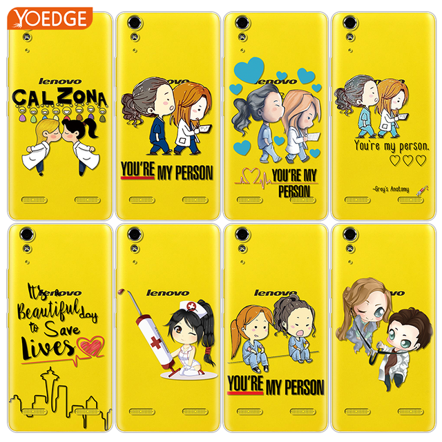Greys Anatomy You're My Person Coque For Lenovo K5 Pro Z5 S90 A7000 A1010 A2010 A2020 A6010 A6020 P70 P2 K3 K6 K8 K5 Note Case