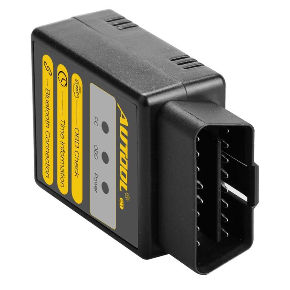 Autool C1 ELM327 V1.5 Wifi Bluetooth OBD2 ELM 327 Máy Quét OBD 2 Công Cụ Chẩn Đoán Ô Tô Mã Quét OBDII 2 Adapter