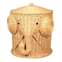الغسيل سلة الفيل طفل