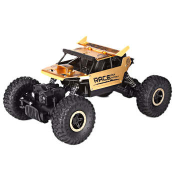 Remote Control RC Car 2.4GHZ 1:18 4 Wheel Drive Rock Crawler Rally Car Bigfoot Car Off-road Vehicle Toys