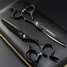 Freelander Japan Steel 6 Inch Professional Hairdressing Scissors Hair Cutting Scissor Barber Shears Hair Thinning Scissors
