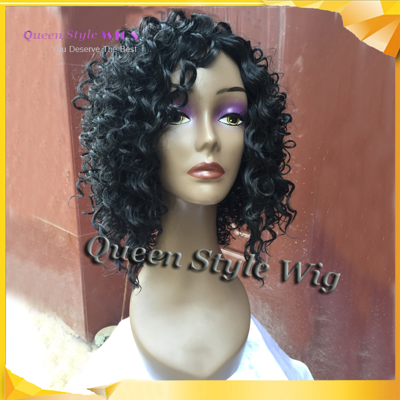 Super My Curly Synthetic Wig Is Frizzy Wigs Ideas Short Hairstyles For Black Women Fulllsitofus