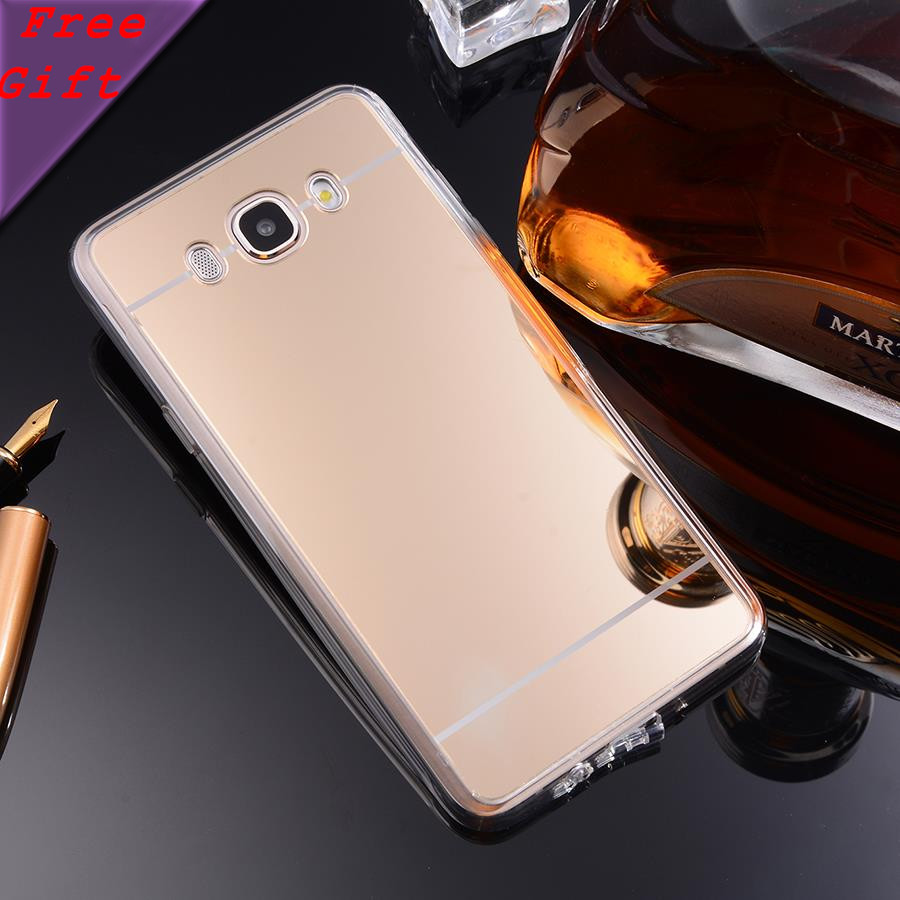 For font b Samsung b font J710F J7 Case 2016 Luxury Soft TPU PC Mirror Cases