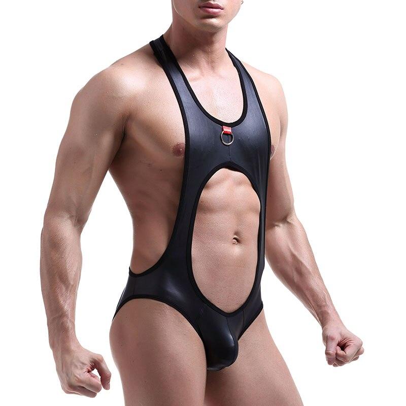 Кожаное нижнее белье, мужские сексуальные трусы бандаж, гей секс, открытая спина, мужские G стринги, набор ремней, трусы для пениса, нижнее бе...