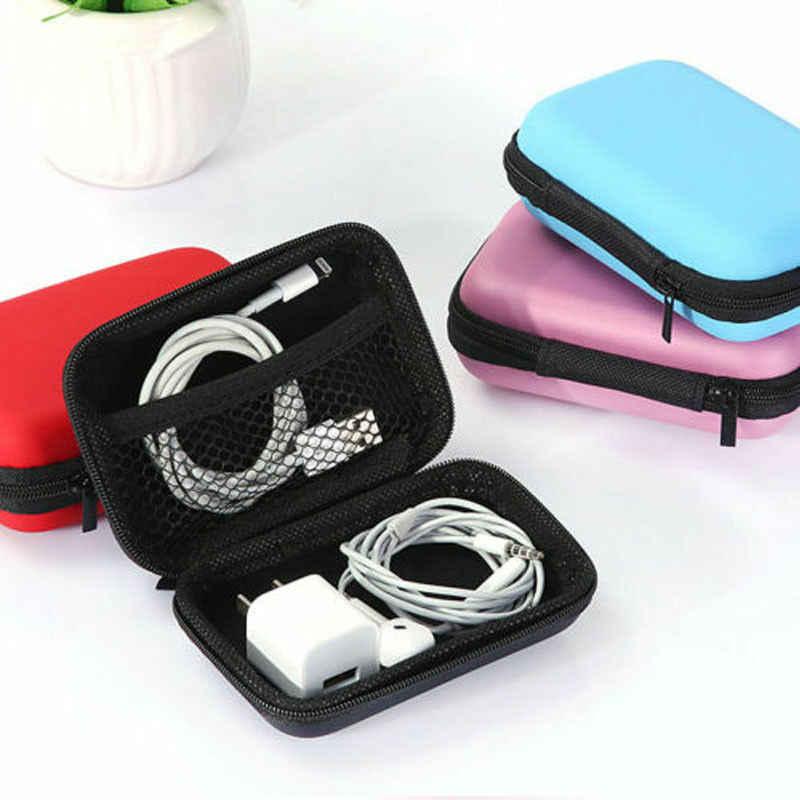 2019 Yeni Stil Kadın Erkek Sikke Çanta Çanta Kulaklık Çantası Dijital Seyahat Ekleme Kılıfı USB bellek Sürücüler Mini Cüzdan