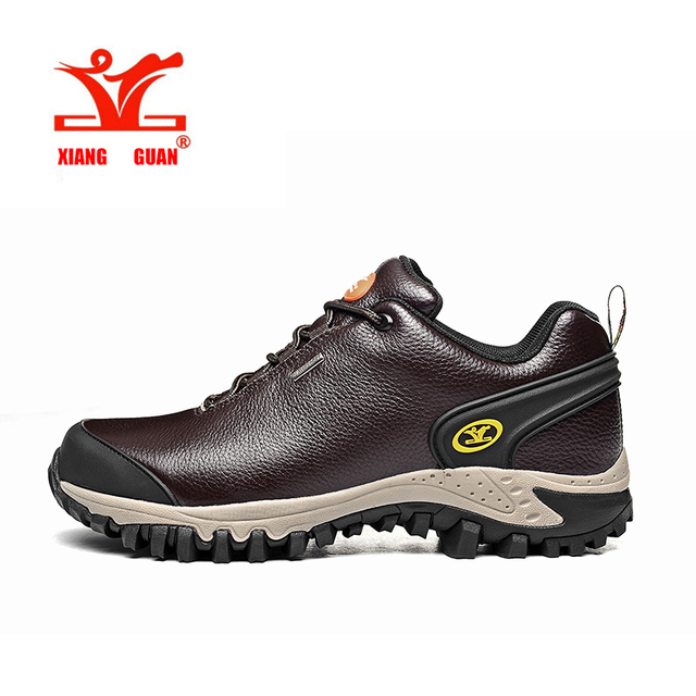 XIANG GUAN Brand Men Shoes Casual Lace Up Genuine leather Shoes Men 2017 Flats Shoes For Men Trainers Black 56799