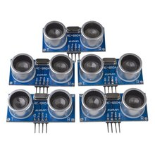 Miroad 5pcs Hc-sr04 Ultrasonic Distance Measuring Sensor Module kit for Arduino UNO Mega R3 Mega2560 Duemilanove Nano   K18