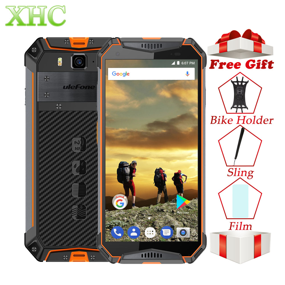 Ulefone Armor 3 4GB 64GB IP68 Waterproof Mobile Phone Android 8 1 5 7 Helio P23