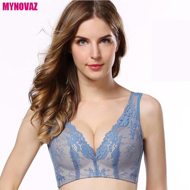 MYNOVAZ Femmes de Nouveau Best-Seller Sexy Sous-Vêtements Bras Pas Jantes  Dentelle Lingerie cd737c852f8