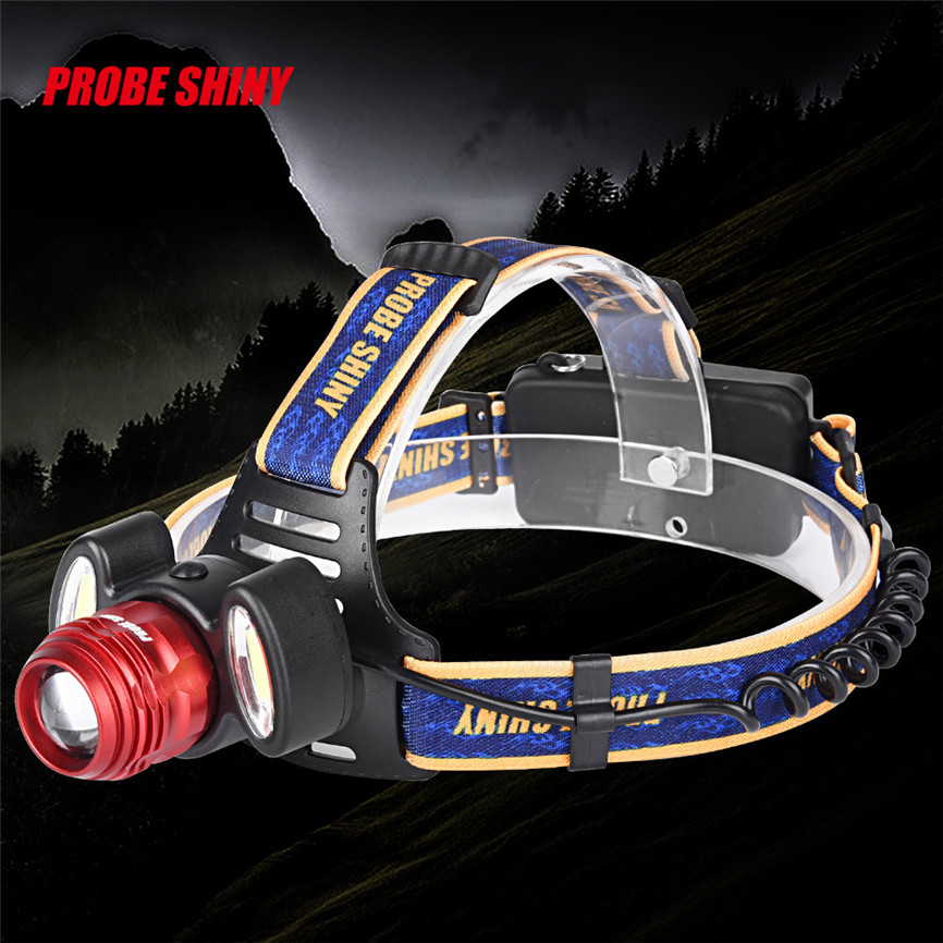 New 6000Lm 3 LED Rechargeable Headlamp Headlight Head Torch Light Lamp