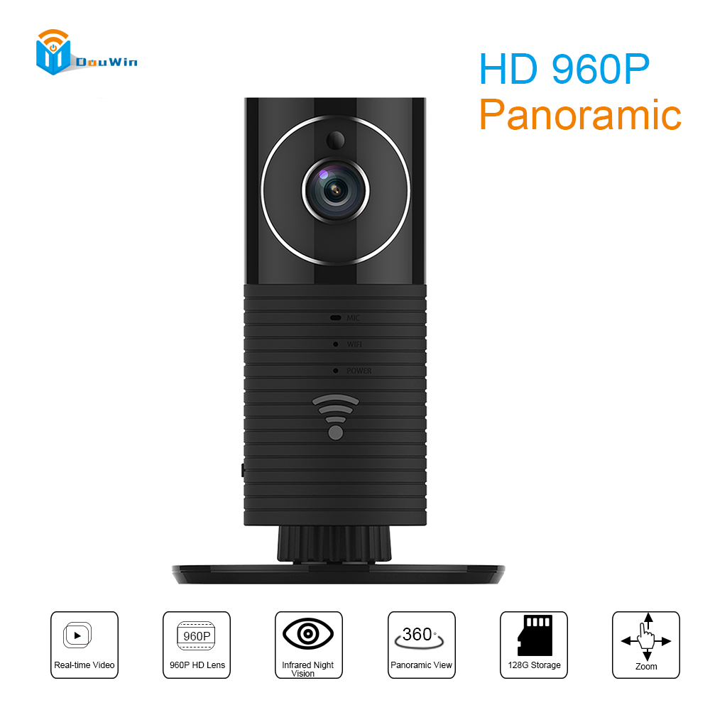 960P IP Camera Panoramic Full HD Clever Dog Wifi P2P Network Mini CCTV 1.3MP HD Wirless Security Video Surveillance Baby Monitor ip камера clever dog dog 2w