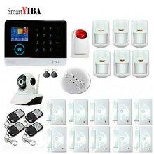 SmartYIBA Wireless Wifi 3G WCDMA CDMA Sim Auto Dial Home Office Security Burglar Alarm System Video
