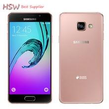 Горячая Продажа Смартфон Оригинальный Samsung Galaxy A3 A3000 Quad-Core Android 4.4 OS 4.5 Дюймов 8 ГБ ROM 4 Г 8.0MP Камеры Мобильного телефон