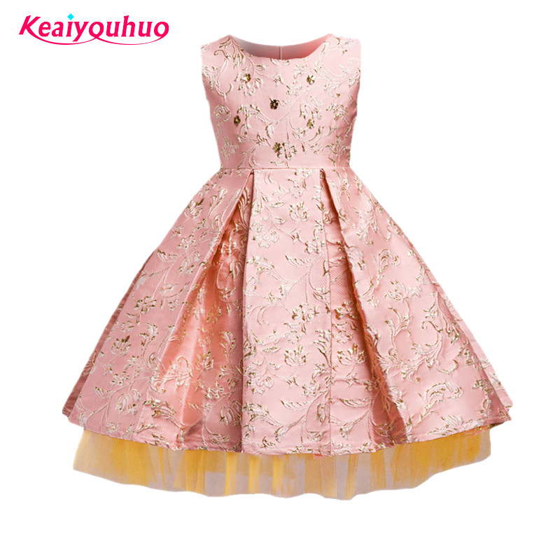 Girls Dress 2018 Toddler Girl Summer Party Dress Fashion Kids Girls Birthday & Wedding Outfit Costume for 3 4 5 6 7 8 9 10 Years random 10 items   fashion 5 outfit   5
