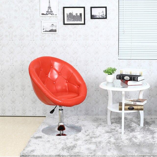 Многофункциональный подъем и поворот бар кожаное кресло отель высокого качества простой стул отдыха моды бытовые стульчик