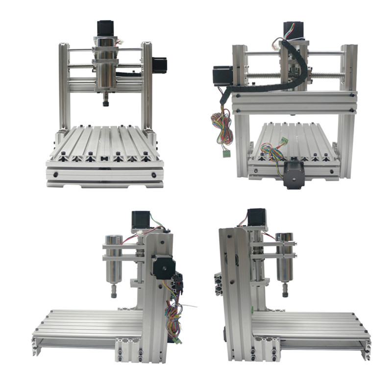 DIY 2030 CNC Router Engraving machine mini 3020 metal mini drilling machine eur free tax cnc 6040z frame of engraving and milling machine for diy cnc router