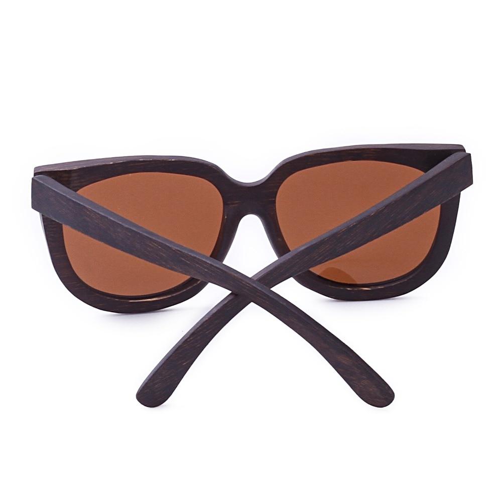 GMYR 3 ojo de gato Negro Polarizado Lentes de gafas de sol de bambú De  Madera gafas de Sol Mujer gafas de Sol Del Ojo de Gato Marca de Madeira en  Gafas ... f62af1f3d7cd