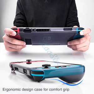 Image 5 - Мягкий чехол из ТПУ для Nintendo Switch, защитный чехол для Nitendo Switch, аксессуары для игр