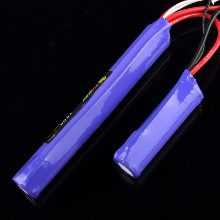 GE Power RC Lipo battery 11.1V 1500MAH 20C 2 cell AKKU Mini Airsoft Gun Battery RC model 40C