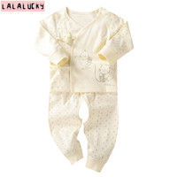 LALALUCKY Newborn Baby Clothes Boy And Girl Clothing For Baby Baby S Underwear Sets Long Sleeved