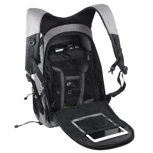Professional Photographic Solar Backpack  2