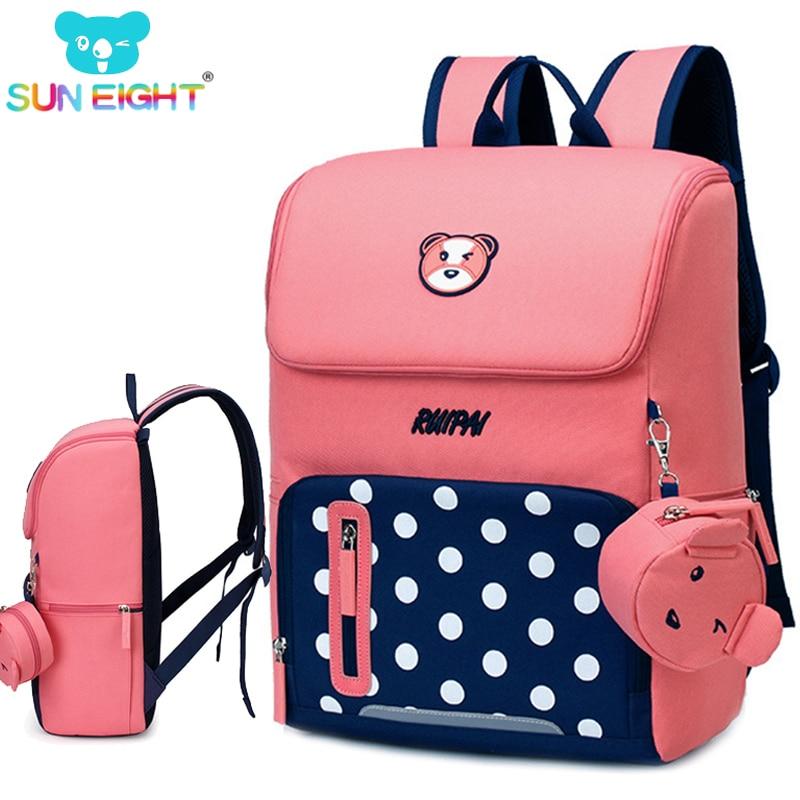Orthopedic Backpack Bear Printing Kid School Bag Children Shoulder Bags School Kids Orthopedic Girl School Backpacks
