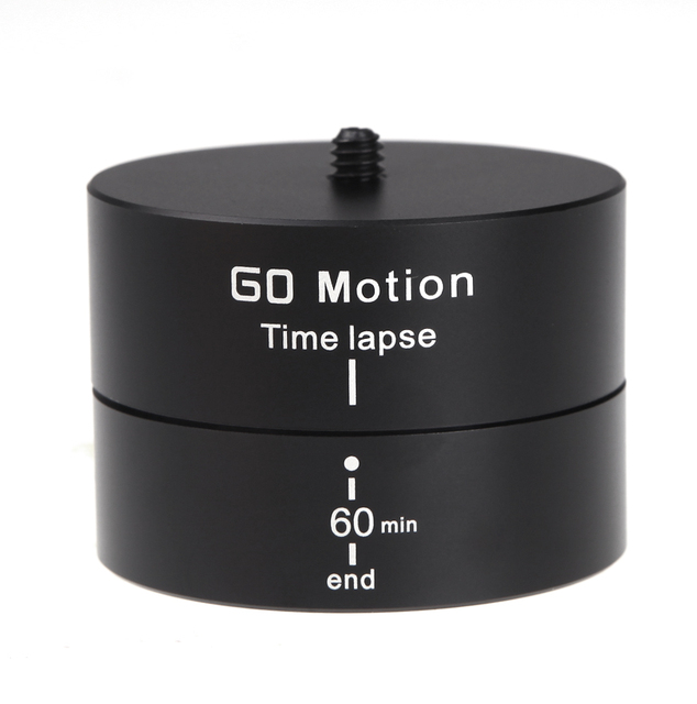 luminum Alloy 360 Degrees Panning Rotating Time Lapse Stabilizer Tripod Adapter for Gopro DSLR Max.