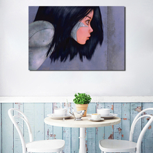 Alita Battle Angel 4k Movies Wallpapers HD Canvas Posters Prints Wall Art Oil Painting Decorative Picture Modern Home Decoration