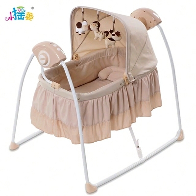 Super Berceau Big Baby Electric Concentretor Shaking Bed Cradle Squirreltailoven Fun Painted Chair Ideas Images Squirreltailovenorg