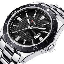 Часы для мужчин Элитный бренд часы CURREN кварцевый спортивный военный для мужчин наручные часы из стали погружения 30 М часы в стиле кэжуал masculino