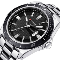 Watches Men Luxury Brand Watch CURREN Quartz Sport Military Men Full Steel Wristwatches Dive 30m Casual