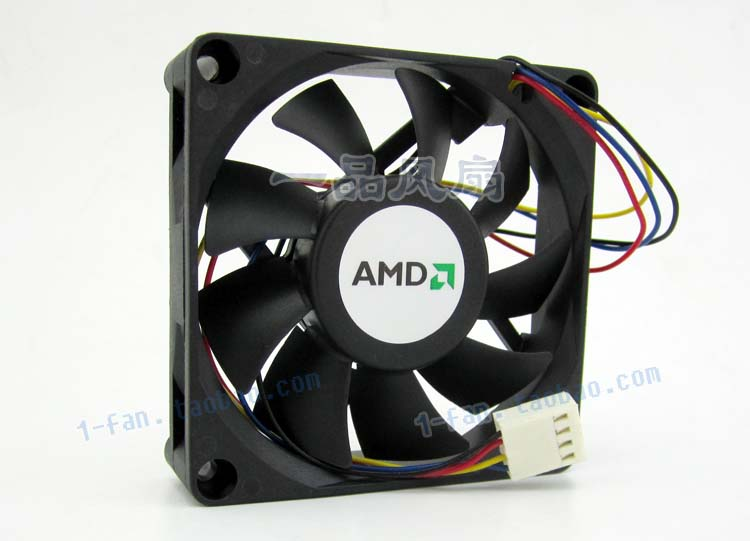 For AVC DSSC0715R2L, P002 DC 12V 0.3A 4-wire 4-pin connector 100mm 70x70x15mm Server Square Cooling fan