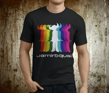 Create A Shirt Crew Neck Regular Short Mens  Popular Jamiroquai British Jazz K Jay Kay Black Tee