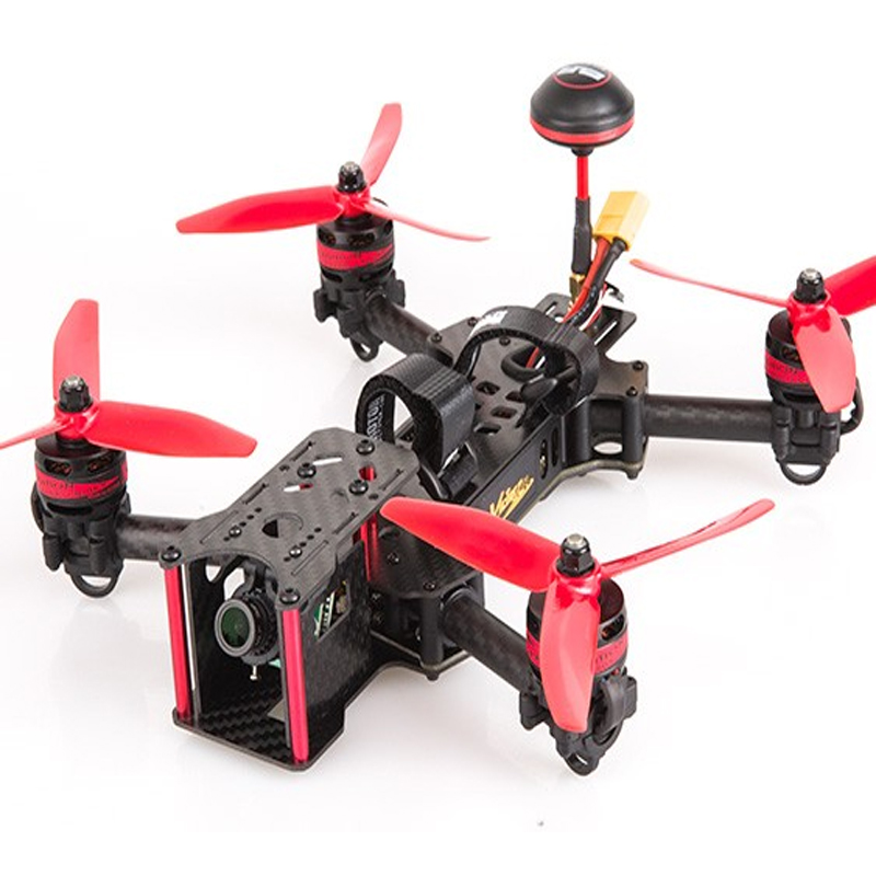 BeeRotor Victory 230 FPV Drone Quadcopter 40CH ARF Fully Assembled Racer with Camera 2205 2300KV RED