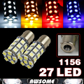Wholesale!!! 20x 1156 27 smd 5050 12V Car Auto Led Tail Side Trun Signal Backup Reverse Stop Parking Bulb BA15S White/RedYellow