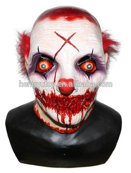 adult size celebrations party fancy dress rubber king costume horror scary clown mask in party masks from home garden on aliexpresscom alibaba group
