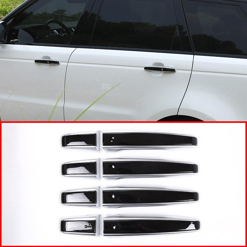 8pcs Car Door Handle Trims For Land Rover Discovery Sport LR5 Range Rover Sport Evoque Vogue LR405 RRSport Replacement Parts LHD