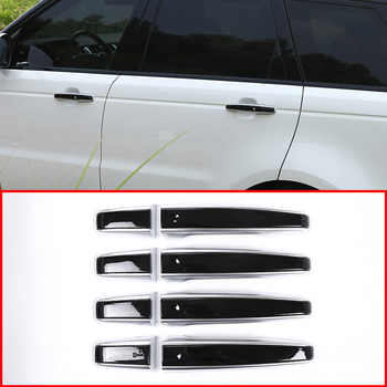 8pcs Car Door Handle Trims For Land Rover Discovery Sport LR5 Range Rover Sport Evoque Vogue LR405 RRSport Replacement Parts LHD - DISCOUNT ITEM  8 OFF All Category