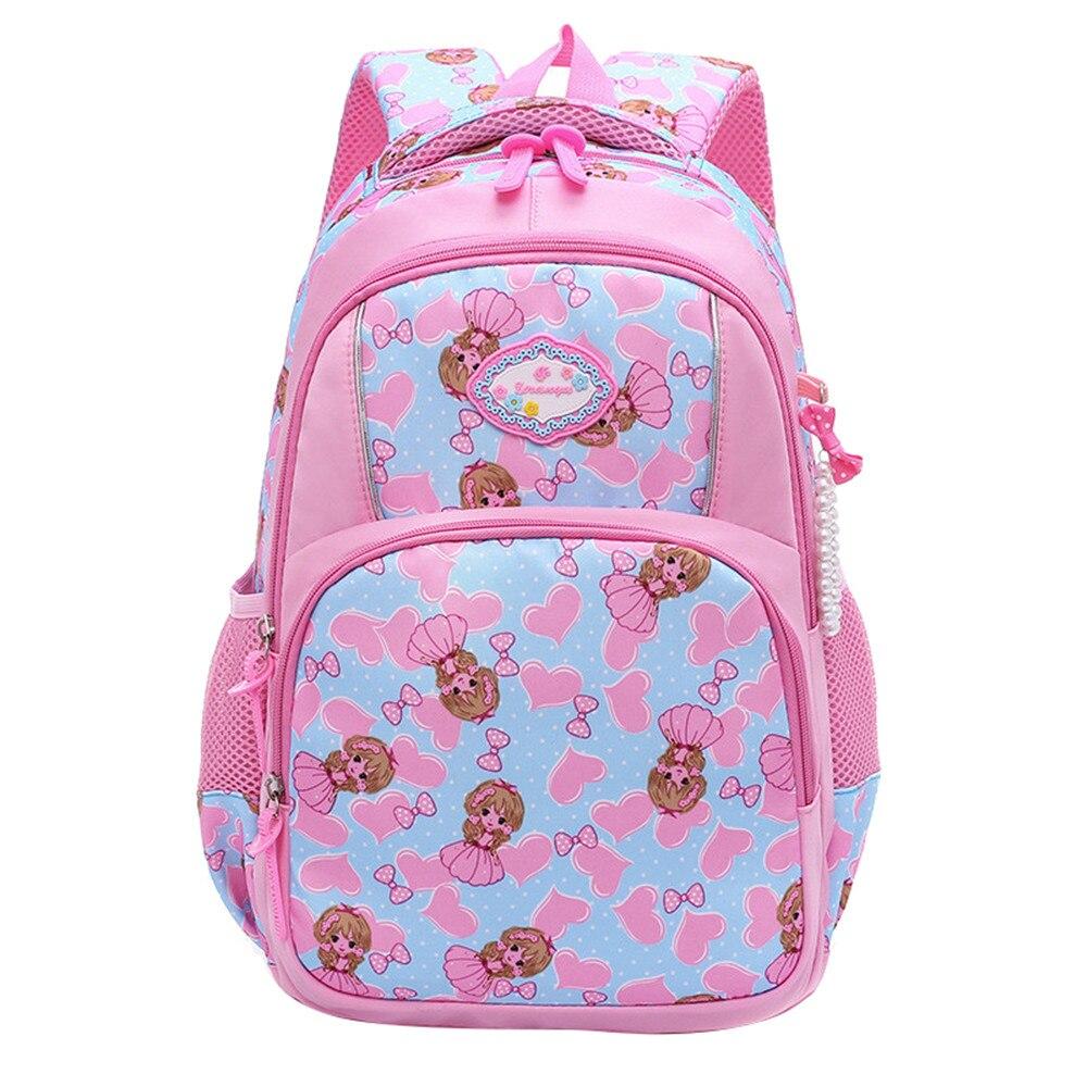 607b84600e01 Кошка детская одежда с рисунком рюкзаки для девочек легкий  водонепроницаемые школьные мешки ребенок школьные детские книги сумка  mochila