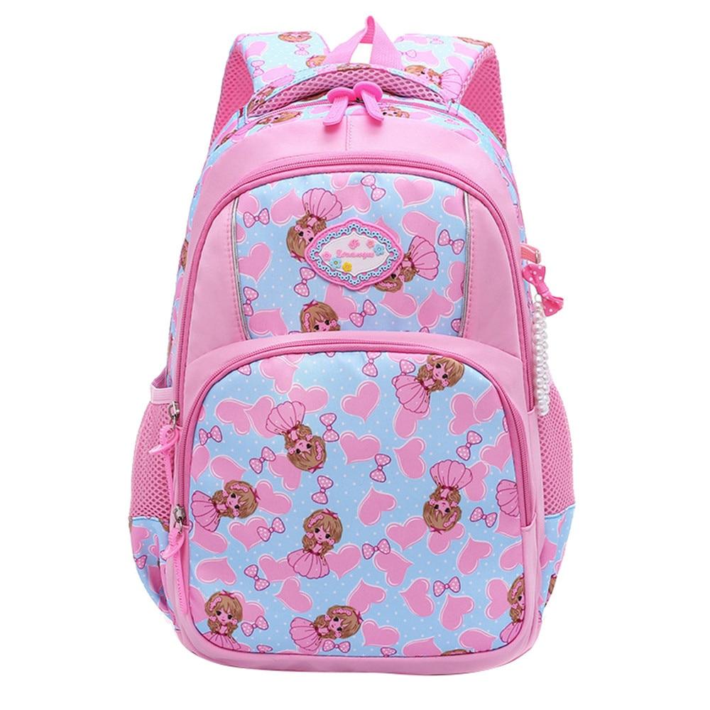 cute printing children backpacks For girls Lightweight waterproof school bags child schoolbags kids book bag mochila