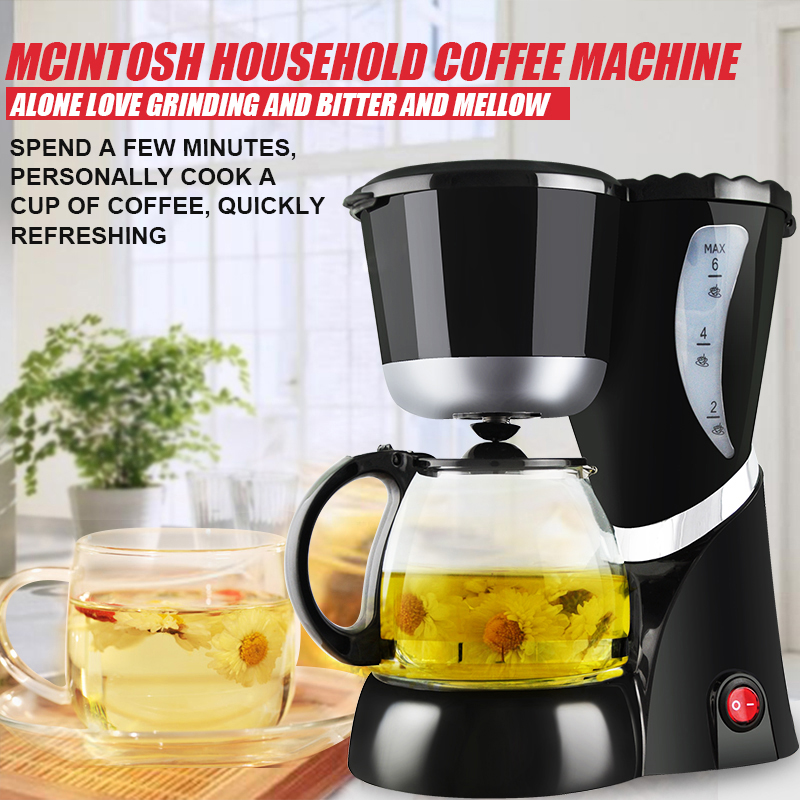 Automatic Coffee Makers Mini Household Coffee Machine DIY Drip With Cafetera Intelligent Portable Electric Cafeteira Maker household fully automatic coffee maker cup portable mini burr coffee makers cup usb rechargeable capsule coffee machine
