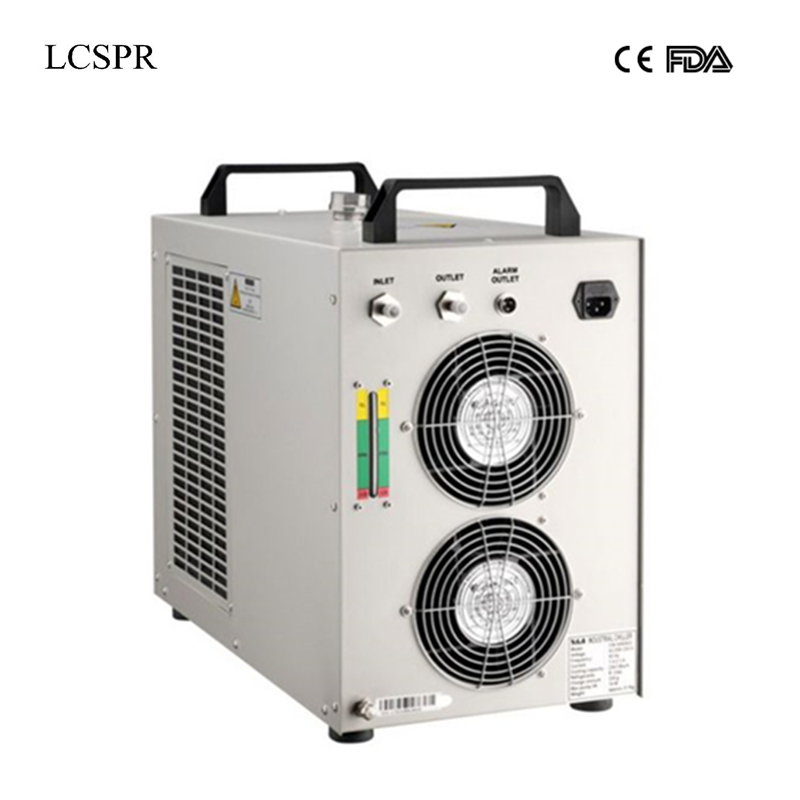Free shipping hot sell indrustry CW5000 water chiller cooling for 100W or 150W CO2 laser tube and laser machine -in Woodworking Machinery Parts from Tools