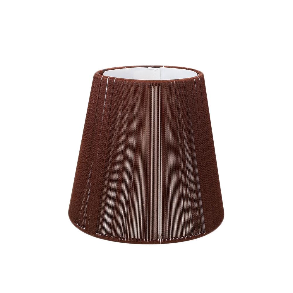 Старинная ткань Европейская хрустальная люстра со свечами настенный светильник абажур кафе - Цвет корпуса: 3
