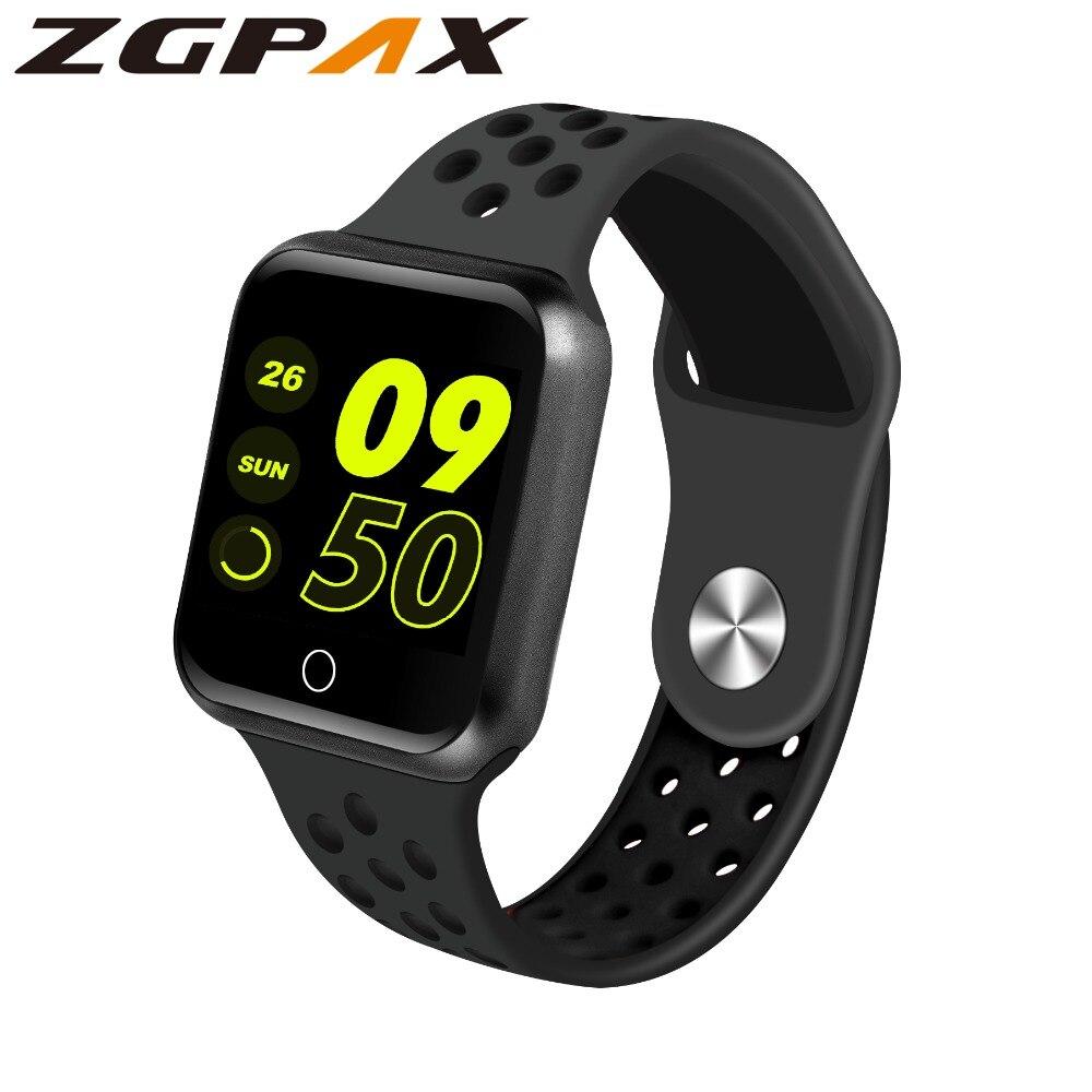 "ZGPAX S226 Smart Watch 1.3"" Colorful Screen Sport Modes Life Waterproof Blood Pressure Heart Rate Monitor Smartwatch Men Women|Smart Watches| |  - AliExpress"